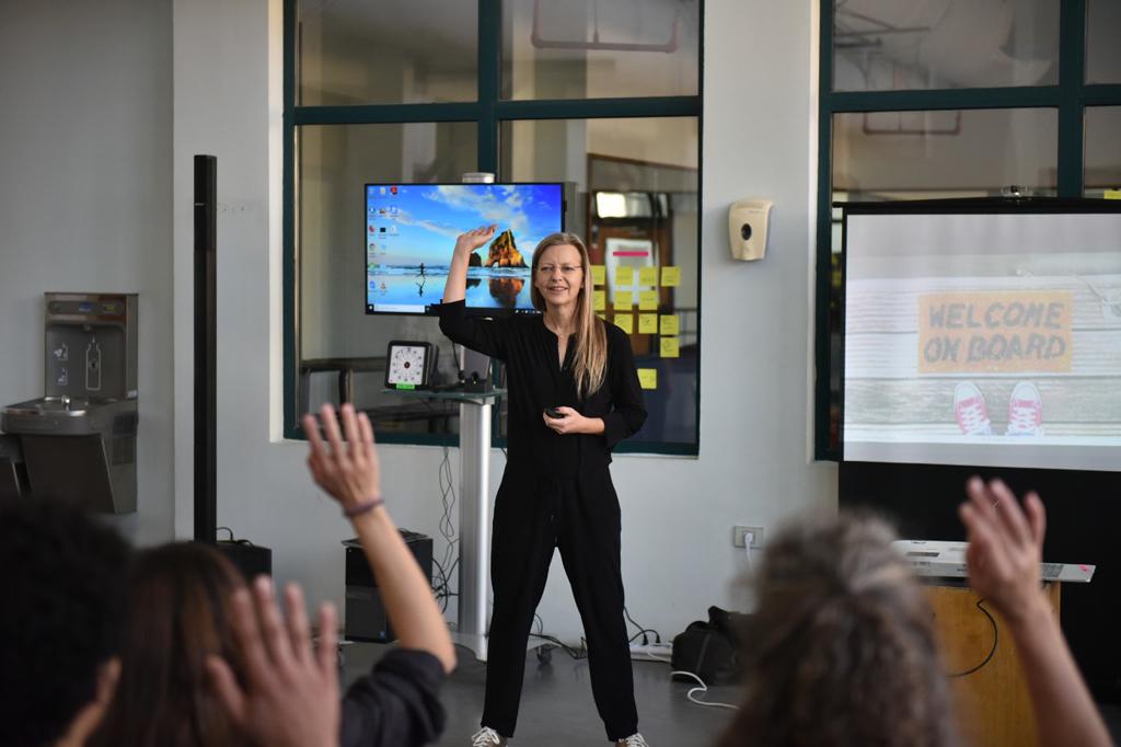 Claudia Nicolai at Global Design Thinking Week in Cairo